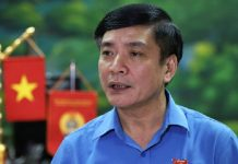 Ông Bùi Văn Cường, Chủ tịch Tổng Liên đoàn Lao động Việt Nam