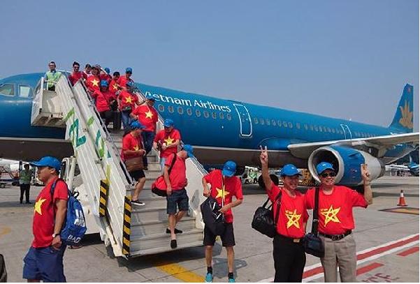 Đón U23 Việt Nam được đón bằng chuyên cơ về nước vào ngày 2/9