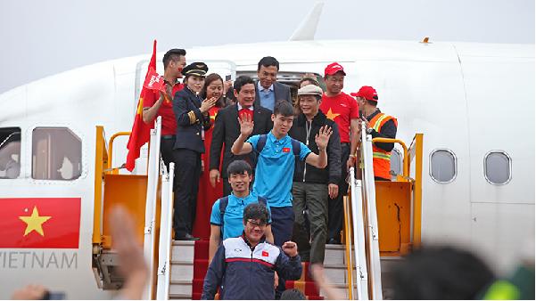 Dự kiến sẽ có chuyến bay thẳng về nước cho u23 Việt Nam