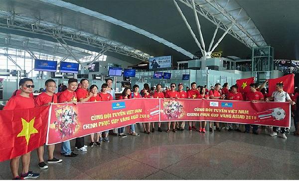 Việt Nam thắng Syria tạo niềm hứng khởi cho hàng nghìn cổ động viên