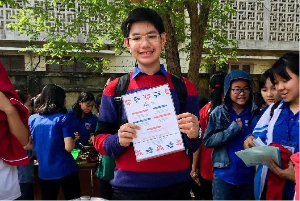 Chia sẻ bí quyết dành học bổng toàn phần của em Nguyễn lê Đông Hải
