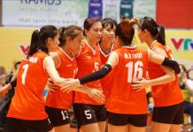 Đội tuyển bóng truyền nữ Việt Nam cán đích hạng 6 tại ASIAD