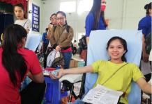 Ngày hội hiến máu tình nguyện của sinh viên trường Đh Bạc Liêu