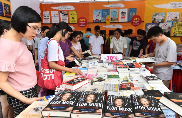 Ngày sách Việt Nam với nhiều chủ đề hấp dẫn, thu hút