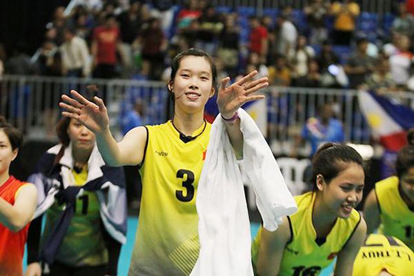 Hai tay đập tiềm năngcủa bóng chuyền Việt Nam được mời xuất ngoại