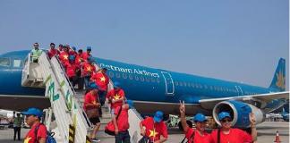 Đón u23 Việt Nam về nước bằng chuyên cơ