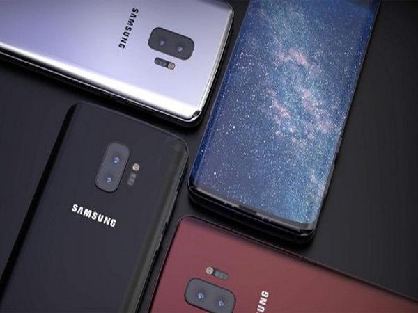 3 chiếc galaxy s10 và điện thoại màn hình gập được ra mắt 2019