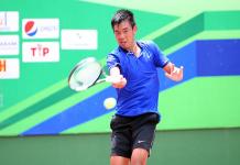 Tay vợt Hoàng Nam khởi đầu thuận lợi tại quê nhà