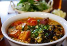 Bún ốc Hà Nội, món ăn ngon hấp dẫn thực khách