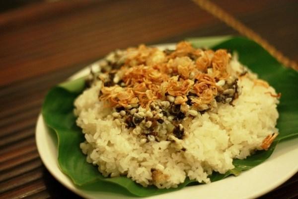 Xôi trứng kiến, đặc sản Ninh Bình  nổi tiếng