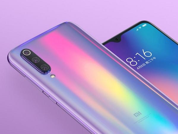 Xiaomi 9 thiết kế bắt mắt, nhiều màu sắc