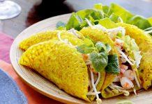 Bánh xèo - đặc sản Quảng Bình ngon hấp dẫn
