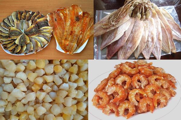 Hải sản khô – Mực khô đặc sản Quảng Bình nổi tiếng