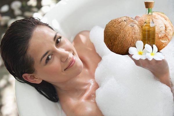 Cách làm đẹp bằng dầu dừa tại nhà, an toàn hiệu quả