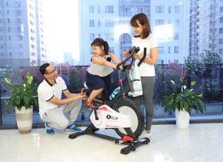 Xe đạp tập tại nhà đang là sản phẩm chiếm ưu thế được nhiều người lựa chọn