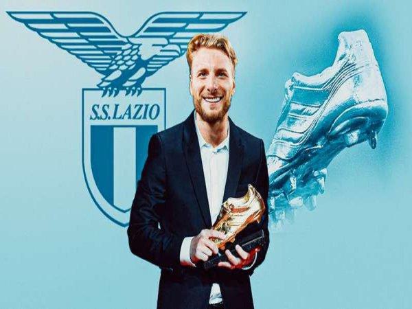 Chiếc giày vàng châu Âu không muốn rời Lazio