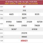 Dự đoán XSDT 21/9/2020 chốt lô số đẹp Đồng Tháp thứ 2