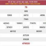 Dự đoán XSGL 25/9/2020 chốt KQXS Gia Lai thứ 6