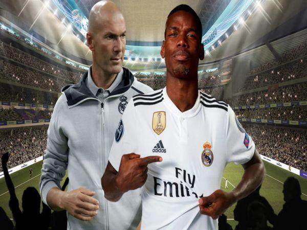 Chuyển nhượng chiều 19/10: MU cược Paul Pogba lấy tài năng Real