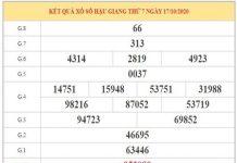 Dự đoán XSHG ngày 24/10/2020 dựa trên phân tích KQXSHG kỳ trước