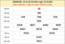 Dự đoán XSHCM 24/10/2020