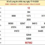 Dự đoán xổ số Long An 24-10-2020