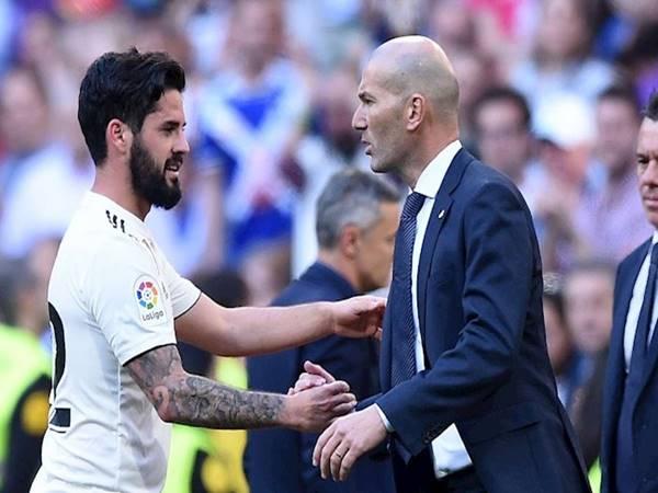 Zidane lên tiếng về khả năng Isco rời Real