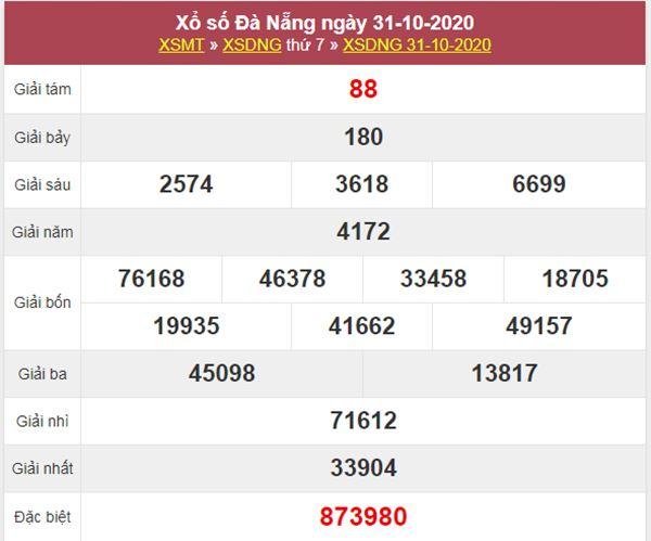 Dự đoán XSDNG 4/11/2020 chốt kết quả Đà Nẵng cực chuẩn