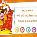 Dự đoán kết quả XS Quảng Nam Vip ngày 20/04/2021