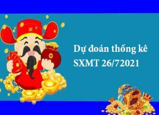 Dự đoán thống kê SXMT 26/72021