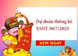 Dự đoán thống kê XSNT 30/7/2021