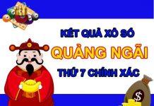Dự đoán XSQNG 25/9/2021 chốt KQXS Quảng Ngãi thứ 7